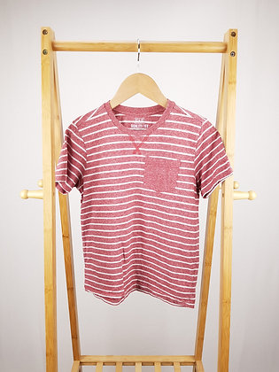 F&F striped t-shirt 9-10 years