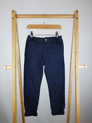 Next navy trousers 4-5 years