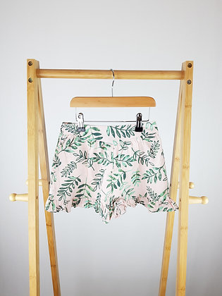 George linen mix floral shorts 4-5 years