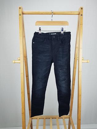 Matalan black denim super skinny jeans 8 years