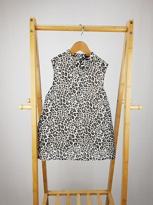 George leopard blouse 8-9 years