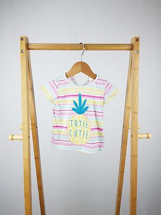 F&F tutie cutie t-shirt 12-18 months