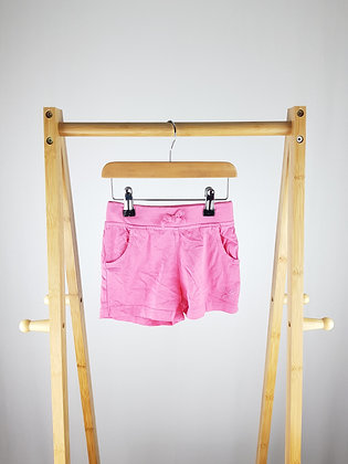 George pink shorts 3-4 years