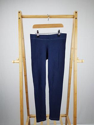 M&S navy leggings 12-13 years