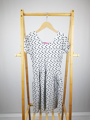 Young dimension heart print dress 12-13 years