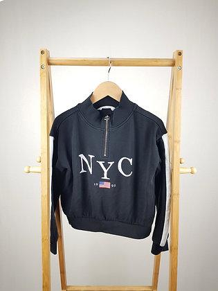 H&M NYC black sweater 10-12 years