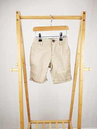 Matalan beige shorts 6 years