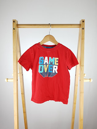 Primark red t-shirt 5-6 years