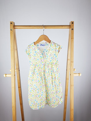 Fusion floral dress 2 years