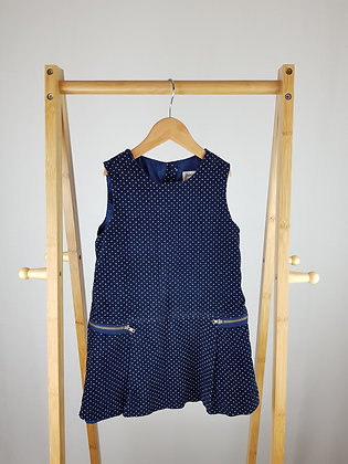Jasper Conran spotted corduroy dress 4-5 years