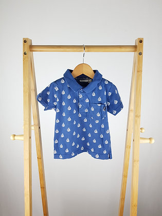 Jojo Maman Bebe nautical polo shirt 18-24 months