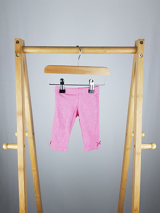 F&f pink leggings up to 1 month