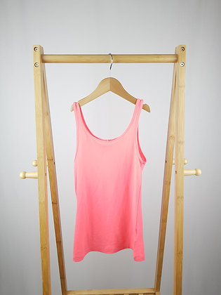 Young dimension pink vest top 7-8 years