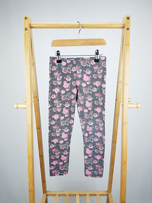 F&F floral jeggings 7-8 years