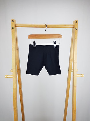 F&F black shorts 3-4 years