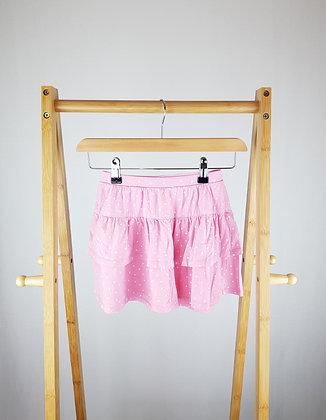 H&M pink layered skirt 7-8 years