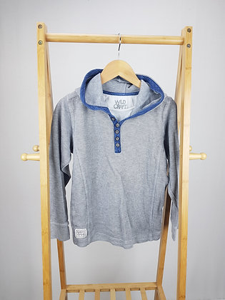 Matalan grey hooded sweater 10-11 years