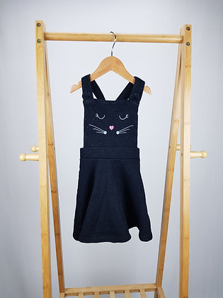 George cat pinafore dress 4-5 years