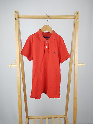 H&M red polo shirt 6-8 years