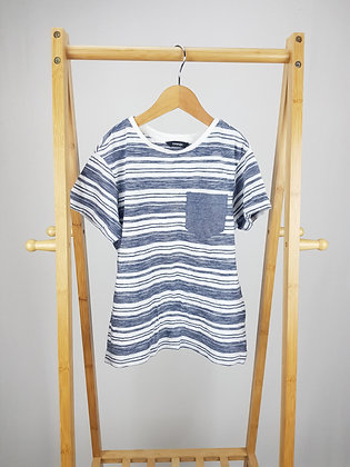 George striped t-shirt 8-9 years
