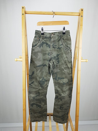 George camouflage denim trousers 9-10 years