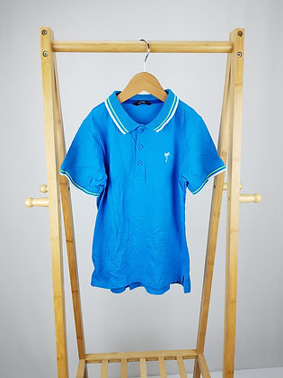 George blue polo shirt 8-9 years