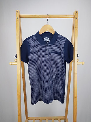 Matalan navy polo shirt 10 years