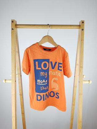 George love nana more than dinos t-shirt 5-6 years