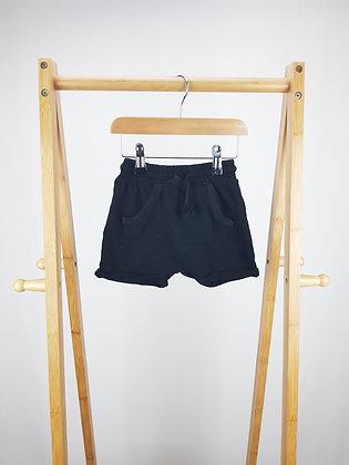 George  black shorts 18-24 months