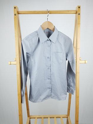 M&S grey formal shirt 9-10 years