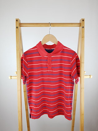 M&S red polo shirt 9-10 years