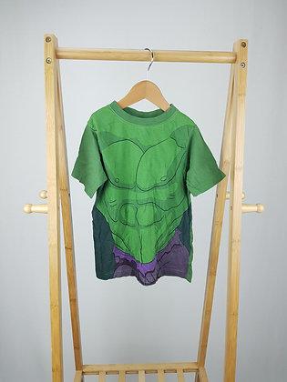 Marvel Avengers Hulk t-shirt 6-7 years