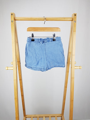 George denim shorts 4-5 years