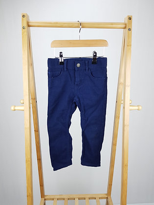H&M navy trousers 2-3 years