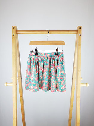 F&F floral skirt 4-5 years