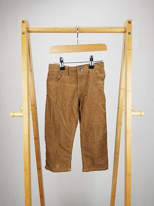 Brown corduroy trousers 2 years