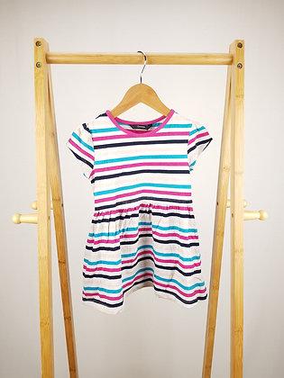 George striped dress 2-3 years
