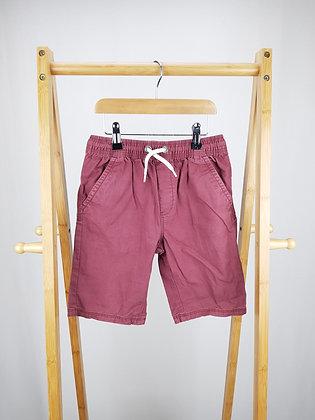 George burgundy shorts 8-9 years