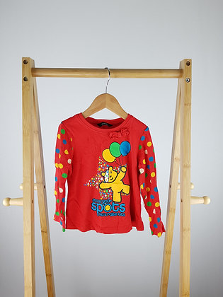 George Pudsey long sleeve top 2-3 years