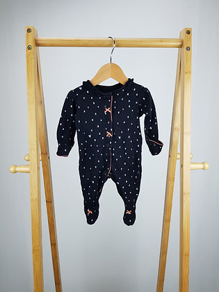 George spotted sleepsuit first size