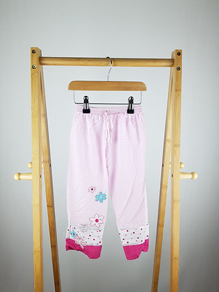 Mothercare pink wide trousers 2-3 years