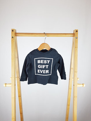 F&F best gift long sleeve top 0-3 months