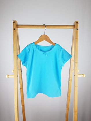 M&S blue t-shirt 5-6 years