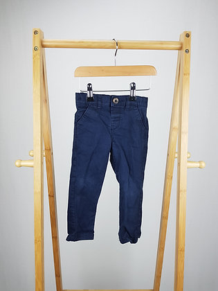 Bluezoo navy trousers 12-18 months