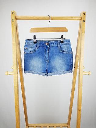 George denim shorts 8-9 years