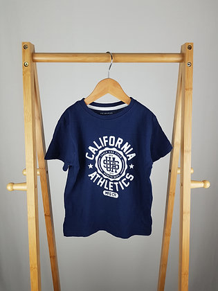 Primark navy t-shirt 4-5 years