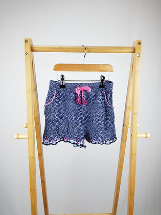 George floral shorts 7-8 years