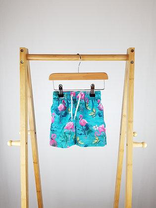 Matalan flamingo shorts 12-18 months