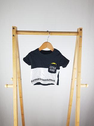 Batman t-shirt 0-3 months