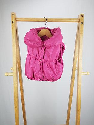 Fagottino pink padded  vest 18-24 months